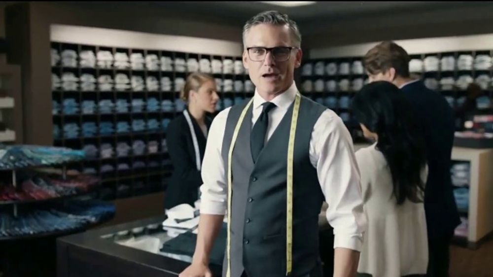 Men's Wearhouse Buy One Get One TV Commercial, 'Covered Head to Toe'