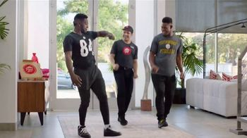 Pizza Hut TV Spot, 'Get Your End Zone Dance Ready' Feat. Antonio Brown - 2477 commercial airings