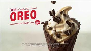 Sonic Double Stuff Oreo Waffle Cone TV Spot, 'Sobrecargado' [Spanish] - Thumbnail 9