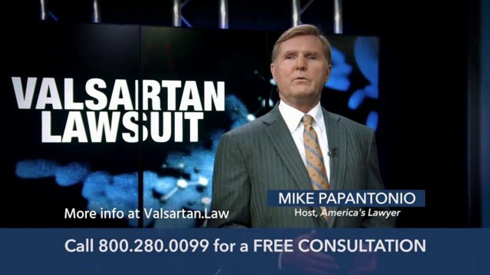 Levin Law TV Commercial, 'Valsartan Lawsuit' - Video