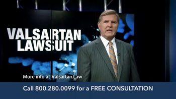 Levin Law TV Spot, 'Valsartan Lawsuit' - Thumbnail 1