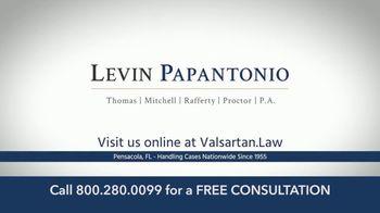 Levin Law TV Spot, 'Valsartan Lawsuit' - Thumbnail 10