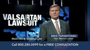 Levin Law TV Spot, 'Valsartan Lawsuit' - Thumbnail 2