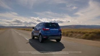 Ford SUV Season TV Spot, 'Discover the First-Ever Ford EcoSport' [T2] - Thumbnail 2
