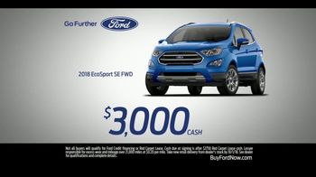 Ford SUV Season TV Spot, 'Discover the First-Ever Ford EcoSport' [T2] - Thumbnail 8