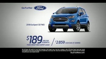 Ford SUV Season TV Spot, 'Discover the First-Ever Ford EcoSport' [T2] - Thumbnail 9