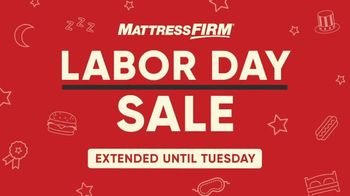 Mattress Firm Labor Day Sale TV Spot, 'Extended: All Beds on Sale' - Thumbnail 2