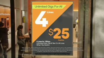 Boost Mobile Unlimited Gigs TV Spot, 'Watch Whatever You Want' - Thumbnail 5