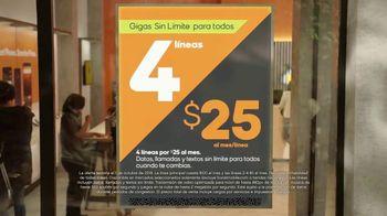 Boost Mobile TV Spot, 'Gigas sin límite para todos' [Spanish] - Thumbnail 6