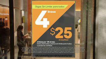 Boost Mobile TV Spot, 'Gigas sin límite para todos' [Spanish] - Thumbnail 7