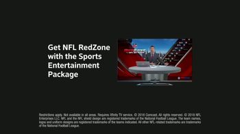 XFINITY Sports Entertainment Package TV Spot, 'Finding the End Zone' - Thumbnail 9