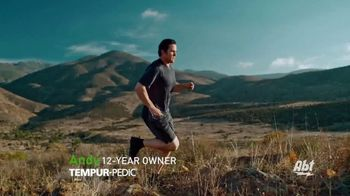 Tempur-Pedic TEMPUR-breeze TV Spot, 'Cool and Different: Save $550' Featuring Andy Stumpf