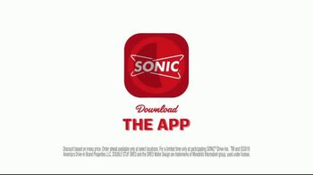 Sonic Drive-In Double Stuff Oreo Waffle Cone TV Spot, 'Overload' - Thumbnail 10