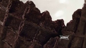 Sonic Drive-In Double Stuff Oreo Waffle Cone TV Spot, 'Overload' - Thumbnail 4
