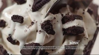 Sonic Drive-In Double Stuff Oreo Waffle Cone TV Spot, 'Overload' - Thumbnail 8
