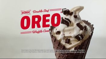 Sonic Drive-In Double Stuff Oreo Waffle Cone TV Spot, 'Overload' - Thumbnail 9