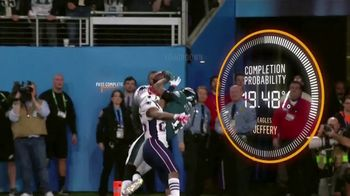 AWS Next Gen Stats TV Spot, 'NFL's Most Improbable Catch' - Thumbnail 8