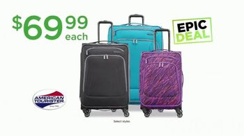 Kohl's Not Our Everyday Sale TV Spot, 'Epic Deals: Polos and Luggage' - Thumbnail 5