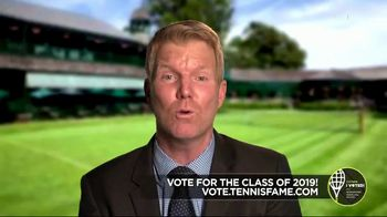 International Tennis Hall of Fame TV Spot, 'Fan Voting for the Tennis Hall of Fame Class of 2019!' - Thumbnail 8
