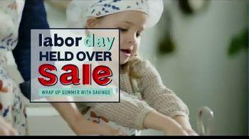 Ashley HomeStore Labor Day Held Over Sale TV Spot, 'Last Chance'