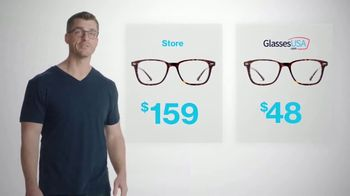 GlassesUSA.com TV Spot, 'Same Glasses. Different Prices' - Thumbnail 1