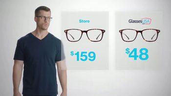 GlassesUSA.com TV Spot, 'Same Glasses. Different Prices'