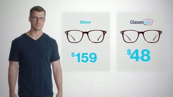 GlassesUSA.com TV Spot, 'Same Glasses. Different Prices' - Thumbnail 2