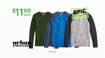 Kohl's Not Our Everyday Sale TV Spot, 'Epic Deals: Tops and Thermals' - Thumbnail 6