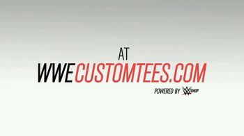 WWE Shop Custom Tees TV Spot, 'The Choice is Yours' Song by TRÏBE - Thumbnail 10