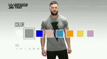 WWE Shop Custom Tees TV Spot, 'The Choice is Yours' Song by TRÏBE - Thumbnail 2