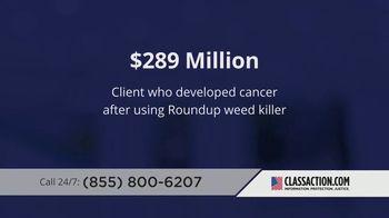 ClassAction.com TV Spot, 'Roundup: Cancer Causing Chemical' - Thumbnail 3