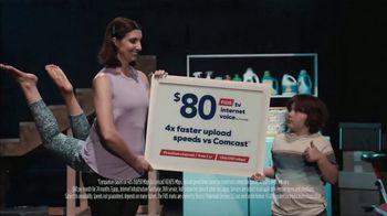 FiOS by Frontier TV Spot, 'Yoga Pose' - Thumbnail 8