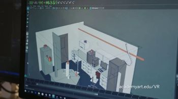 Academy of Art University TV Spot, 'Virtual Reality Designers' - Thumbnail 6