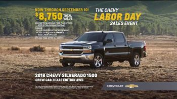 Chevrolet Labor Day Sales Event TV Spot, 'For the First Time' [T2] - Thumbnail 5