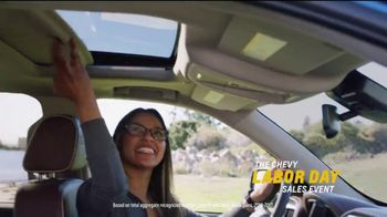 Chevrolet Labor Day Sales Event TV Spot, 'For the First Time' [T2] - Thumbnail 8