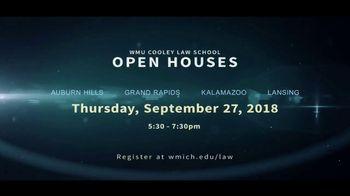 Western Michigan University TV Spot, 'Cooley Law School: Go West' - Thumbnail 10