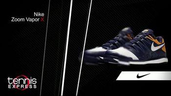 Tennis Express TV Spot, 'Nike Zoom Vapor X, Zoom Zero & Zoom Presitge' - Thumbnail 2