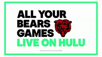 Hulu With TV Spot, 'Game Changer' Featuring Jordan Howard - Thumbnail 9