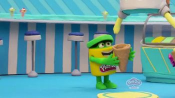 Play-Doh Kitchen Creations Ultimate Swirl Ice Cream Maker TV Spot, 'Double the Swirl' - Thumbnail 1