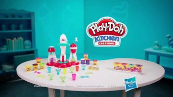 Play-Doh Kitchen Creations Ultimate Swirl Ice Cream Maker TV Spot, 'Double the Swirl' - Thumbnail 9