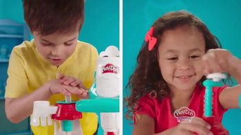 Play-Doh Kitchen Creations Ultimate Swirl Ice Cream Maker TV Spot, 'Double the Swirl'