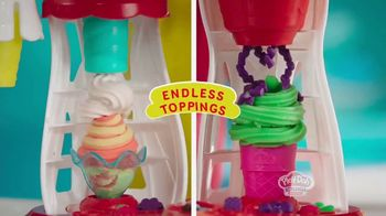 Play-Doh Kitchen Creations Ultimate Swirl Ice Cream Maker TV Spot, 'Double the Swirl' - Thumbnail 6