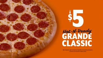 Little Caesars Pizza Hot-N-Ready Large Classic TV Spot, 'Dame cinco' [Spanish] - Thumbnail 7