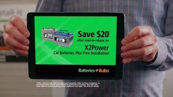 Batteries Plus TV Spot, 'I'd Like You to Do It: Save $20' - Thumbnail 3