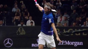 Rolex TV Spot, 'A Portrait of the Laver Cup' Featuring Bjorn Borg, Roger Federer - Thumbnail 4