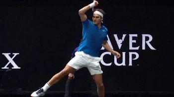 Rolex TV Spot, 'A Portrait of the Laver Cup' Featuring Bjorn Borg, Roger Federer - Thumbnail 8