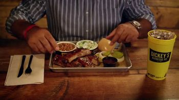 Dickey's BBQ All You Can Eat Ribs TV Spot, 'Satisfies Your Craving' - Thumbnail 6