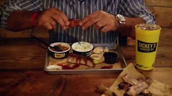 Dickey's BBQ All You Can Eat Ribs TV Spot, 'Satisfies Your Craving' - Thumbnail 8
