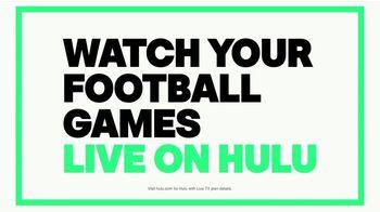 Hulu TV Spot, 'Game Changer: Pro Football' - Thumbnail 10