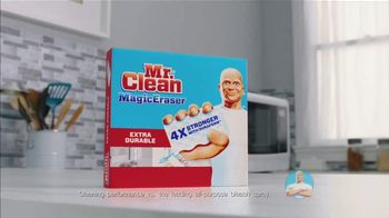 Mr. Clean Magic Eraser TV Spot, \'Impossible Stubborn Messes\'